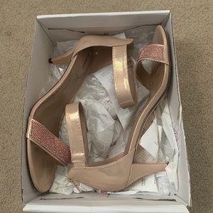 Pink Small Heel Shoe